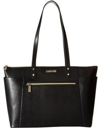 Kenneth Cole Reaction - Downtown Darling - Make A Mental Tote (black) Tote Handbags - Lyst