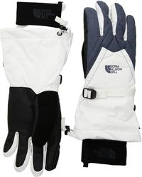 The North Face - Montana Gore-tex(r) Gloves (teaberry Pink/tnf Dark Grey Heather) Gore-tex Gloves - Lyst