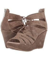 Cordani - Rally (taupe Suede) Women's Wedge Shoes - Lyst