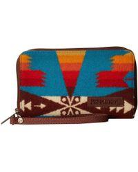 Pendleton - Smart Phone Wallet (tucson Turquoise) Wallet Handbags - Lyst