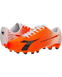 40a5f25e9b7b Diadora - 7-tri Mg 14 (red Fluo black white) Soccer