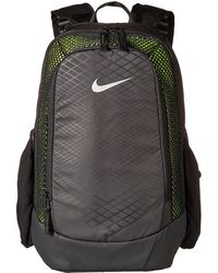 48953a35bf Nike - Vapor Speed Training Backpack (black volt metallic Silver) Backpack  Bags