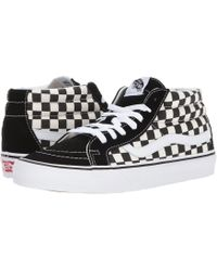 Vans - Sk8-mid Reissue ((retro Sport) Port Royale) Skate Shoes - Lyst