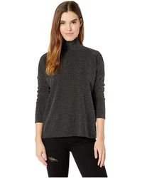 PAIGE - Darby Top (metallic Black) Women's Clothing - Lyst