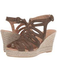 99125b4bae1 Lyst - Cordani Ezra Espadrille Wedge Sandal in Brown