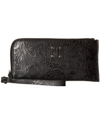 STS Ranchwear - The Floral Clutch (black) Clutch Handbags - Lyst