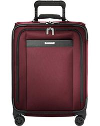 Briggs & Riley - Transcend Vx Wide Carry-on Expandable Spinner (merlot Red) Luggage - Lyst