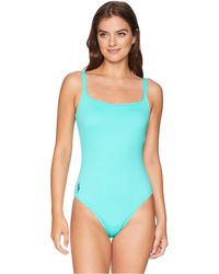 Polo Ralph Lauren - Modern Solid Martinique One-piece - Lyst