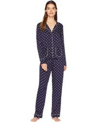 Splendid - Woven Pj Set (snow Dots) Women's Pajama Sets - Lyst