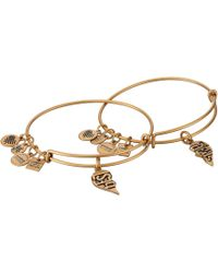 ALEX AND ANI - Charity By Design, Best Friends Set Of 2 Bracelet - Lyst