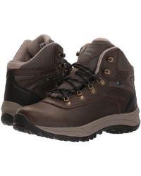 Hi-Tec - Altitude Vi I Waterproof (dark Chocolate/black Smooth) Women's Hiking Boots - Lyst