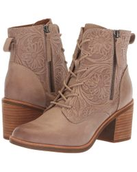 eeaeab601fe33 Söfft - Sondra (light Taupe La Mesa) Women s Lace-up Boots - Lyst