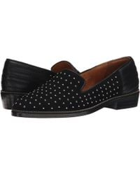 The Kooples - Suede Slippers Decorated With Studs - Lyst