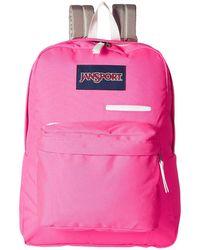 Jansport - Digibreak (shady Grey) Backpack Bags - Lyst