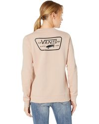 78733c4ddf Vans - Full Patch Classic Crew (spanish Villa) Women s Clothing - Lyst