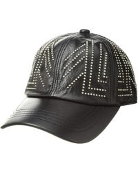 MCM - Studded Collection Cap (black 1) Caps - Lyst