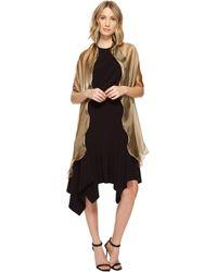 Lauren by Ralph Lauren - Penelope Ruffle Wrap (black) Women's Clothing - Lyst
