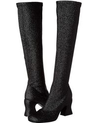 McQ - Kitty Knee Boot 75 (black) Women's Boots - Lyst