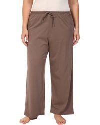 Jockey - Cotton Essentials Plus Size Long Pajama Pant - Lyst