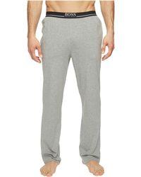 BOSS - Long Pants Ew 1014387 (grey) Men's Pajama - Lyst