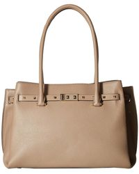 MICHAEL Michael Kors - Addison Large Tote (truffle) Tote Handbags - Lyst