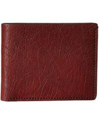 Bosca - Washed Collection - 8-pocket Deluxe Executive Wallet (black) Wallet Handbags - Lyst