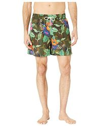 cce26fadb2 Polo Ralph Lauren Traveler Turtle Swim Trunks in Blue for Men - Lyst