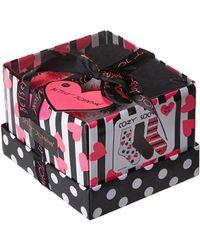Betsey Johnson - 3-pack Cozy Gift Set (multi 1) Women's Crew Cut Socks Shoes - Lyst