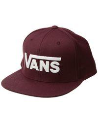 X Tillys Drop V Sunflower Mens Snapback Hat.  26. Tillys · Vans - Drop V Ii  Snapback (port Royale) Caps - Lyst 3c57837f7