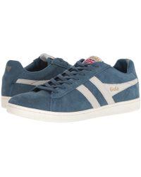 Gola - Equipe Suede (cappucino/navy) Men's Shoes - Lyst