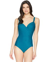 Miraclesuit - Razzle Dazzle Siren One-piece (nile) Women's Swimsuits One Piece - Lyst
