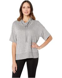 N By Natori - Jersey Rib Top (heather Grey) Women's Pajama - Lyst