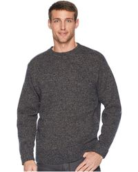 Pendleton - Shetland Crew Sweater (midnight Camo) Men's Sweater - Lyst