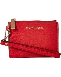 47970da8c2d6 Lyst - MICHAEL Michael Kors Small Coin Purse (olive) Coin Purse in Brown