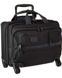 Tumi - Apha 2 - 4 Wheeled Deluxe Brief With Laptop Case - Lyst