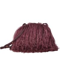 UGG - Mongolian Pom Pom Crossbody (black) Cross Body Handbags - Lyst