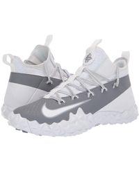 ee295230a8b9 Nike - Alpha Huarache 6 Elt Turf Lax (white white cool Grey