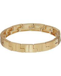 Rebecca Minkoff - Jigsaw Stretch Bracelet (gold) Bracelet - Lyst
