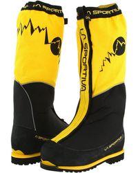 La Sportiva - Olympus Mons Evo (yellow/black) Men's Shoes - Lyst