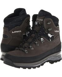 Lowa - Tibet Gtx(r) Ws (dark Gray/navy) Women's Hiking Boots - Lyst