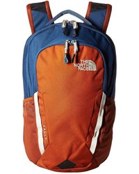 The North Face - Vault (shady Blue/gingerbread Brown) Backpack Bags - Lyst