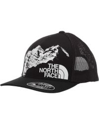 7bb0ea132c9cc The North Face - Keep It Structured Trucker Hat (storm Blue Multi) Caps -