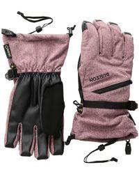 Burton - Wms Gore-tex(r) Glove (bog Heather) Snowboard Gloves - Lyst