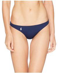 Polo Ralph Lauren - Modern Solid Taylor Hipster Bottoms (sun) Women's Swimwear - Lyst