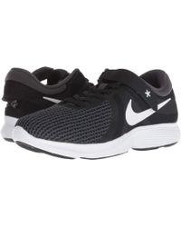 Nike - Revolution 4 Flyease (black/white/anthracite/solar Red) Women's Running Shoes - Lyst