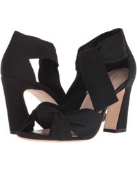 Loeffler Randall - Nan Ankle Tie Sandal (bright Red Crepe) Women's Sandals - Lyst