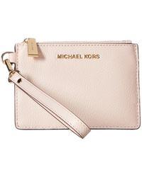 587b3e78d7ba MICHAEL Michael Kors - Mercer Small Coin Purse (vanilla) Coin Purse - Lyst
