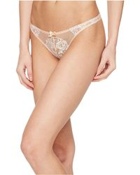 L'Agent by Agent Provocateur - Angelica Thong (nude/ivory) Women's Underwear - Lyst
