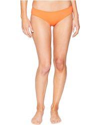 Vince Camuto - Shore Shades Shirred Smooth Fit Cheeky Bikini Bottom (tangerine) Women's Swimwear - Lyst