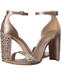 Pelle Moda - Gabi (platinum Gold Satin) Women's Shoes - Lyst
